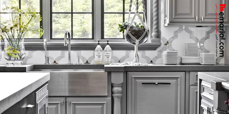 ۲۰ ایده برای کاشی بین کابینتی آشپزخانه