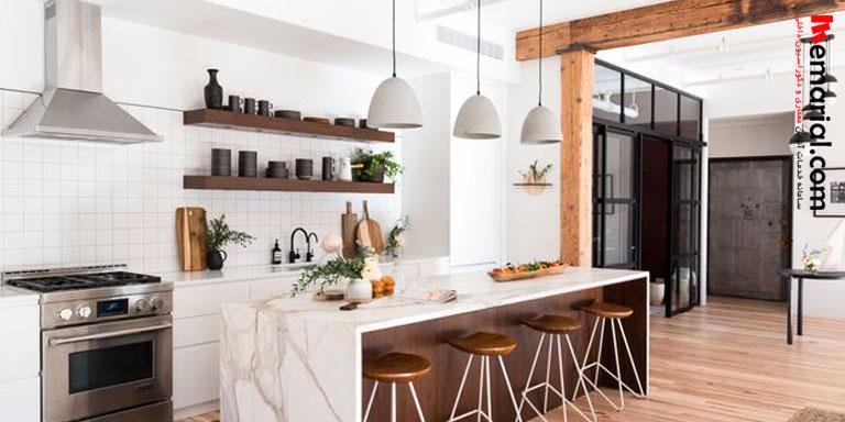 ۱۵ ایده جالب نورپردازی برای آشپزخانه های مدرن
