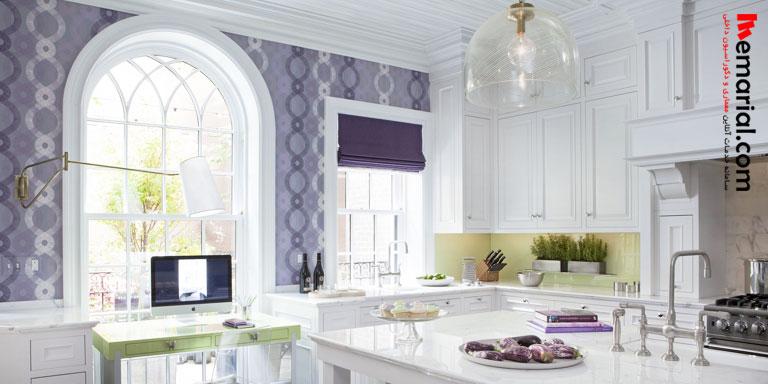 مدل های مختلف کاغذ دیواری آشپزخانه